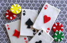 Casino-Themed Cake Decor - These Fondant Dessert Toppers from Etsy's TopCakeDecors Shop Are Edible
