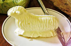 Animal Butter Sculptures