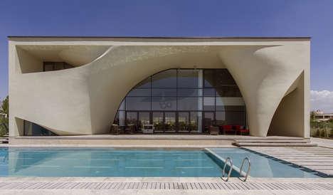 Curvaceous Concrete Villas