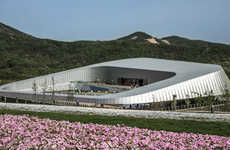 Horticultural Chinese Pavilions - The Theme Pavilion is a Highlight at Qingdao Horticultural Expo