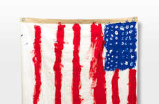 Artfully Expressive Flags - These Arkitip and Michael Leon Flags are Graphic and Patriotic