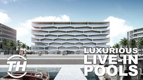 Luxurious Live-In Pools