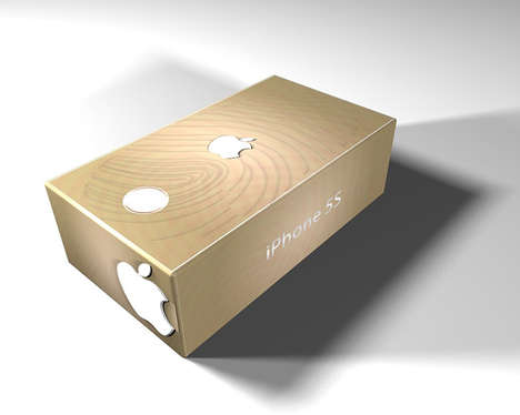 Drawer-Like Phone Packaging