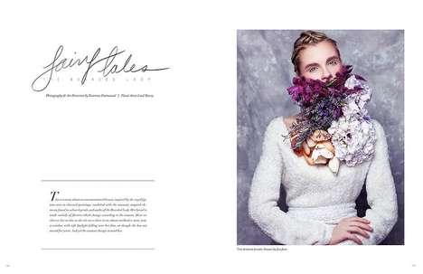 Floral Beard Editorials