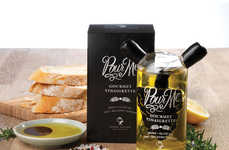 Typographic Olive Oil - Yarra Valley Exudes a Gourmet Feel Thanks to Sophie Rowe