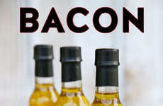 Meat-Infused Olive Oils - This California Olive Oil Contains Bacon Flavorings
