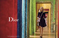 Romantic Garden Fashion Ads - The Dior Secret Garden III Campaign Stars Daria, Fei Fei and Katlin