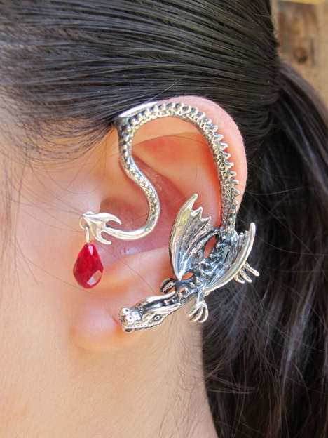 Dramatic Dragon Jewlery