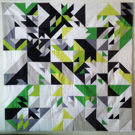 Computer Code Quilts