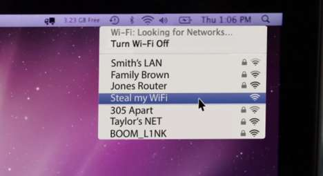 WiFi-Stealing Campaigns