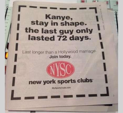 Snarky Celebrity Marriage Ads