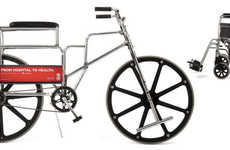 Charitable Wheelchair Bicycles - The Heartbike Supports the Heart and Stroke Foundation Bike Ride