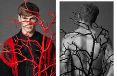 Conceptually Branched Portraits