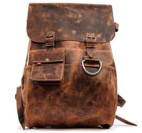 Dapper Sustainable Backpacks - The New Krabu Collection of Backpacks is Stylish and Crafty