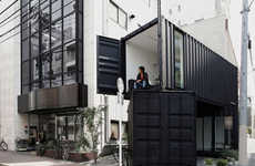 Multipurpose Container Buildings - Tomokazu Hayakawa Architects Expands on a Shipping Container