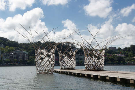 Woven Bamboo Pavilions