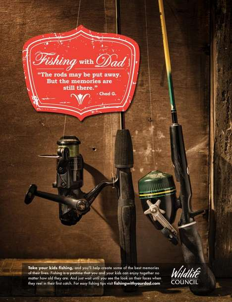 Sentimental Fishing Ads