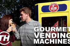 Gourmet Grub Dispensers - Trend Hunter's Courtney Scharf Discusses Unique Food Vending Machines