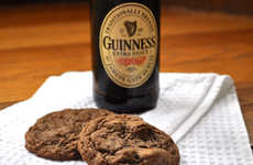 Boozy Beer Cookies - These Guinness Chocolate Chunk Cookies Would Make Great Father's Day Treats