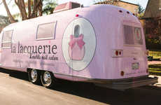 Mobile Nail Salons - La Lacquerie is a Mobile Nail Salon That Caters to Women on the Go