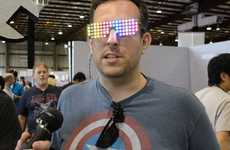Multicoloured LED Sunglasses