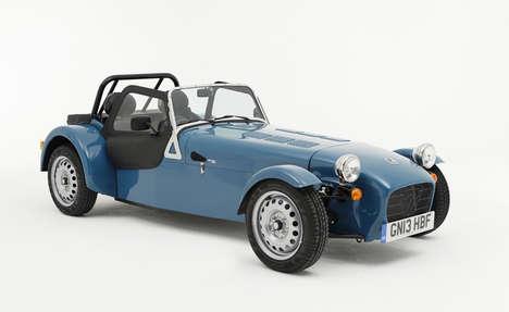 Minimalist Vintage Automobiles
