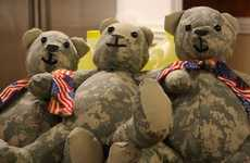 Army Uniform Teddy Bears - The Matthew Freeman Project Turns Fallen Soldier Uniforms into Plushies