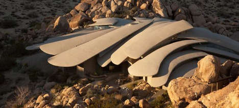 Superhero-Worthy Homes - This Desert House Looks More Like a Superhero Lair