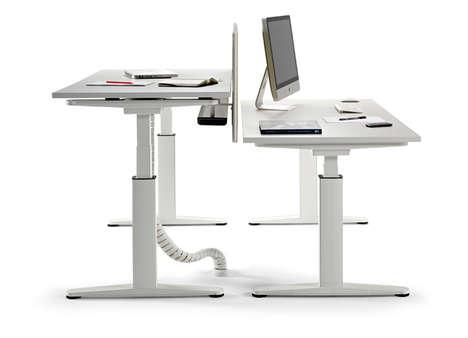 Height-Adjusting Desks