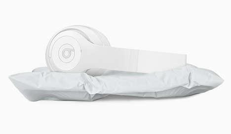 Marble Headphone Pillows