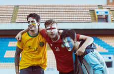 Football Fanatic Editorials - GQ Brazil's Gol de Estila Fashion Story is World Cup Themed