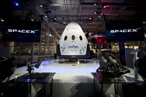 Miniature Space Taxis - The SpaceX Dragon V2 Will Easily Carry 7 Astronauts Through Space