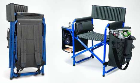 Transforming Backpack Chairs - This Backpack Flips Out into a Chair on Command