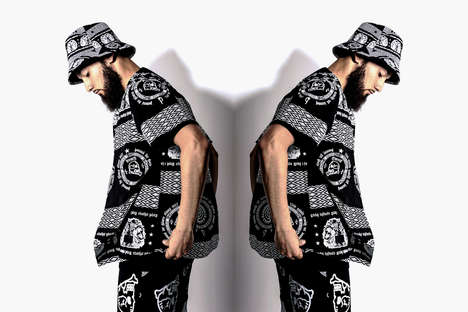 Moody Mirrored Streetwear