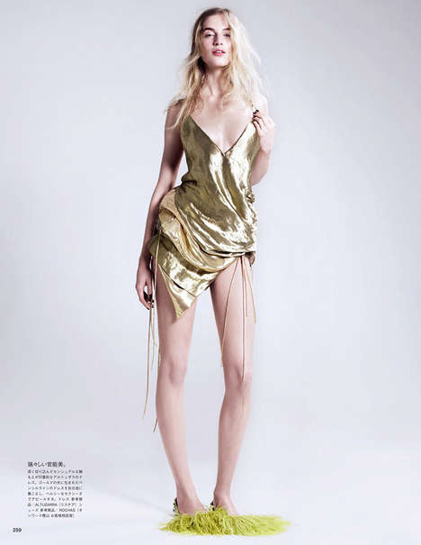 Glistening All-Gold Editorials