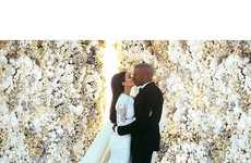 Ceremonial Celebrity Snapshots - The Kanye and Kim Wedding Photo is Now Instagram's Most Liked Ever