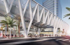 Modern Elevated Transport Hubs