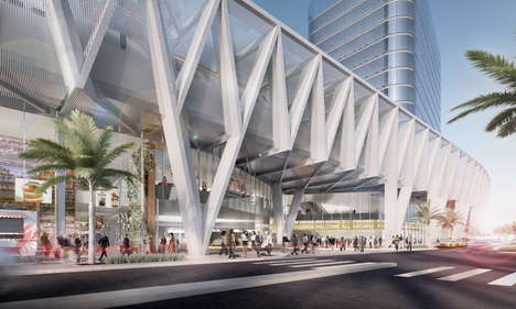 Modern Elevated Transport Hubs