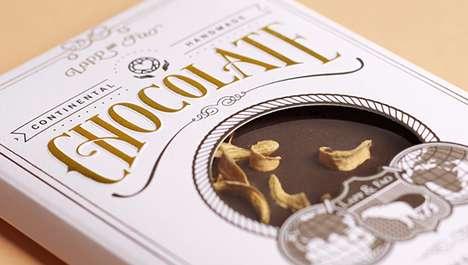 Postcard Chocolate Branding
