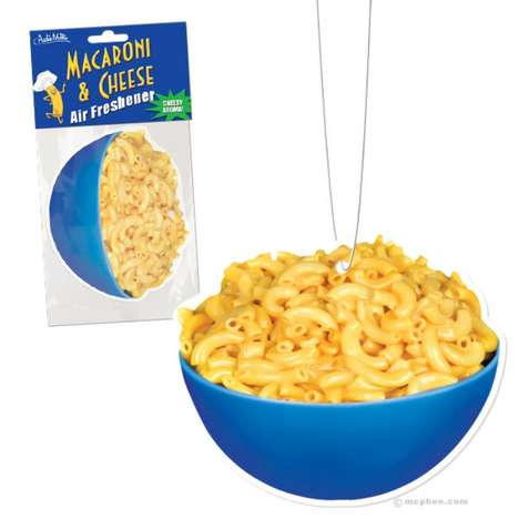 Savory Scent Fresheners - The Macaroni & Cheese Air Freshener is a Delicious Gag Gift