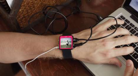 Wearable Tech Watch Spoofs