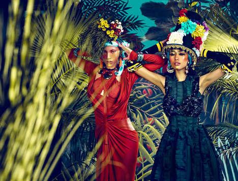 Lavish Tropical Fashion