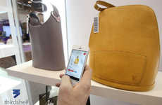 Mobile-Recognition Retail - LXR & Co.'s Innovation Store Uses the Thirdshelf App to Track Customers