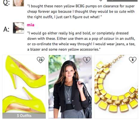 Crowdsourced Style Sites - 'What Goes With This?' is an Online Site that Offers Free Fashion Advice