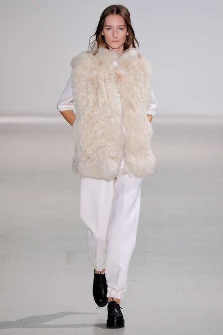 Fur-Trimmed 70s Apparel