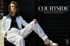 Chic Courtside Editorials