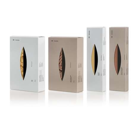 Grain-Focused Packaging - Harmonian by Mousegraphics Exudes Healthy Eating