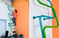 Playful Ladder Lofts - KidsLofty Transforms Contemporary Interiors into Dynamic Playgrounds