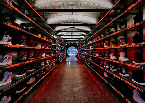 Tunneled Sneaker Stores