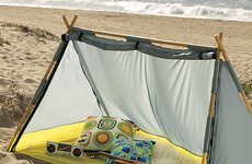 Compact Camping Essentials - CB2's Lean-To Tent Features a Great Design for On-the-Go Travel